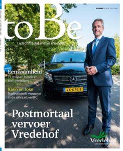 Vredhof Magazine toBe