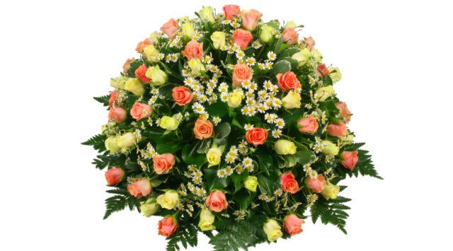 rouwbloemen vredehof uitvaart